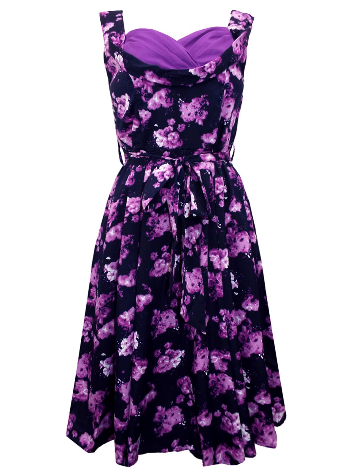 605fde306e3 Vintage stiilis lilla kleit   HT Trade